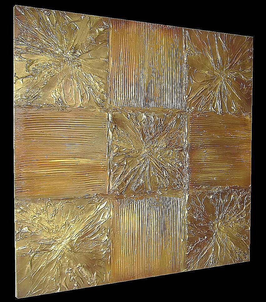 Vendita quadri sala 81 solchi materici i quadri for Quadri astratti materici