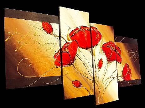 I quadri moderni astratti di silvia pozzati for Quadri piccoli moderni